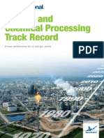 Oil Gas Chemical Downstream Track Record Brochure