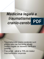 Curs 5 - Medicina Legala a Traumatismelor Cranio-cerebrale