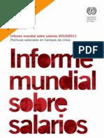 Informe Mundial Sobre Salarios 2010_2011 - Políticas salariales en tiempos de crisis
