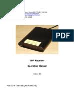 CCW SDR Receiver Operating Manual v2.3