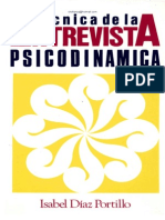 54243640 Tecnicas de La Entrevista Psicodinamica Isabel Diaz Portillo Copia (38928897)