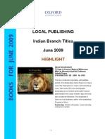 IB Books Jun 09