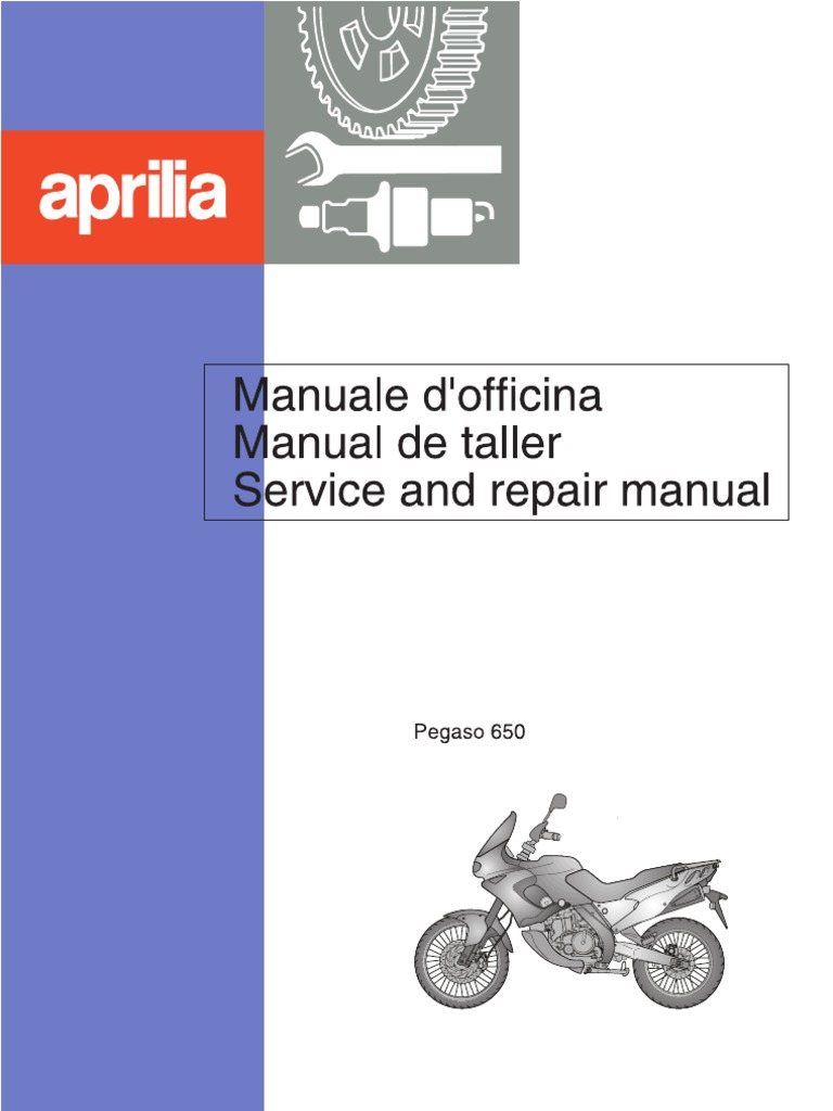 aprilia tuareg Array - aprilia pegaso 650 service and repair manual 1997 rh  scribd ...