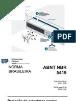 SPDA - Proteção de Estrutura Contra Descarga Atmosférica