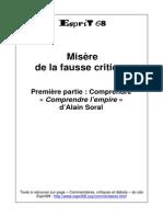 Misere Fausse Critique Nv