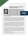 Investigacion en Colombia