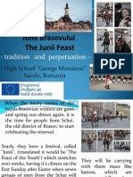 The Junii Feast - tradition and perpetuatin