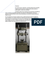 Maquina Universal de Pruebas Mecánicas