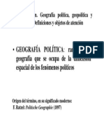 Introduccion a La Geopolitica