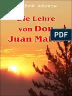 Die Lehre von Don Juan Matus (German edition)