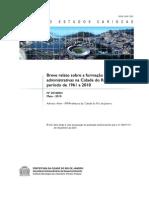 Artigo - Breve relato sobre a formação das divisões administrativas na cidade do Rio de Janeiro