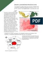 Descripción de la población y características físicas de la zona