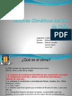 Factores Climáticos del Sur de Chile