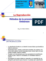 Métodos de prevención del embarazo