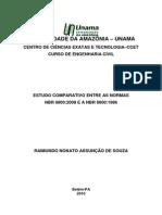 Estudo Comparativo Normas 2008 1986 Nbr 8800