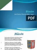 Blasón - Chocadn