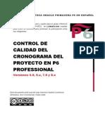 168224661 Control de Calidad Del Cronograma Delproyecto en p6 Professional
