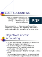 Cost Accounting Theory