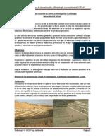 Informe del recorrido al Centro De Investigación Y Tecnología Agroambiental
