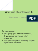 3- what kind of sentence is it