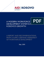Microsoft Word - Final Report Kosovo Workforce Assessment May 2009
