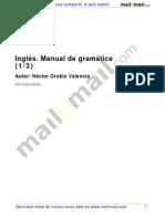 Ingles Manual de Gramatica 1 de 3
