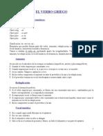 Gramática Griega - Verbo - Sistematización