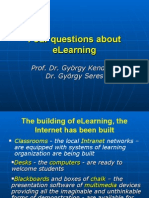 Four Questions about eLearning