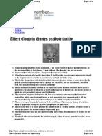Einstein Comments