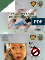 Presentacion de Administracion de Medicamentos