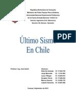 Trabajo Sismo de Chile 01