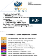 Whole Brain Teaching Conference Handout