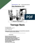 Military Resistance 11I14 Teenage Nazis