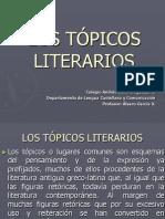 LOS TÓPICOS LITERARIOS-todos juntos