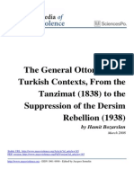 The General Ottoman and Turkish Contexts From the Tanzimat