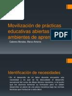 Movilización de prácticas educativas abiertas en ambientes de