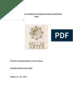 Estado Cuestion 2escuela Nacional Superior Autonoma de Bellas Artes Del Peru
