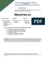 CONVOCATORIA Maestrias 2014-1_PPCA
