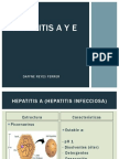 Hepatitis A y E