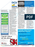 Pharmacy Daily for Mon 30 Sep 2013 - Pharmacy solution for the bush, PBS spending decline, Chemmart\'s winning wall, Supermarket pharmacies and much more