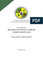 tesis doctoral REALIDAD Y FICCIÓN EN LA OBRA De auotra