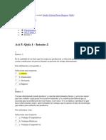 Actividad 5. Quiz 1 Sandra