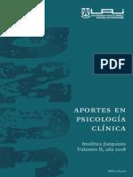 Aportes a La Psicologa Junguiana Vol II