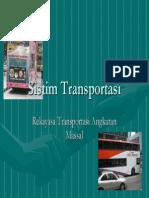 Vii Sistim Transportasi Massal