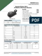 Vishay - Vskd600 Series - Bi Diodo 600a 2000v