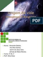 Biogenese e Abiogenese