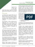 selector december 2005 quarterly newsletter