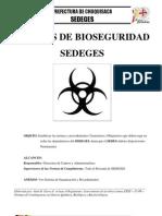 NORMAS DE Bioseguridad contra la Gripe AH1N1 APLICABLES A INSTITUCIONES, OFICINAS Y HOGARES