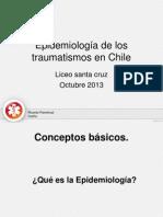 Epidemiologia Del Trauma Liceo