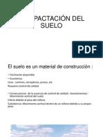 COMPACTACIÓN DEL SUELO